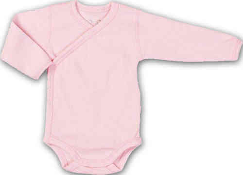 Wickelbody organic cotton rosa
